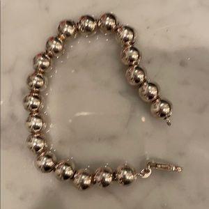 Sterling silver 925 ball bracelet